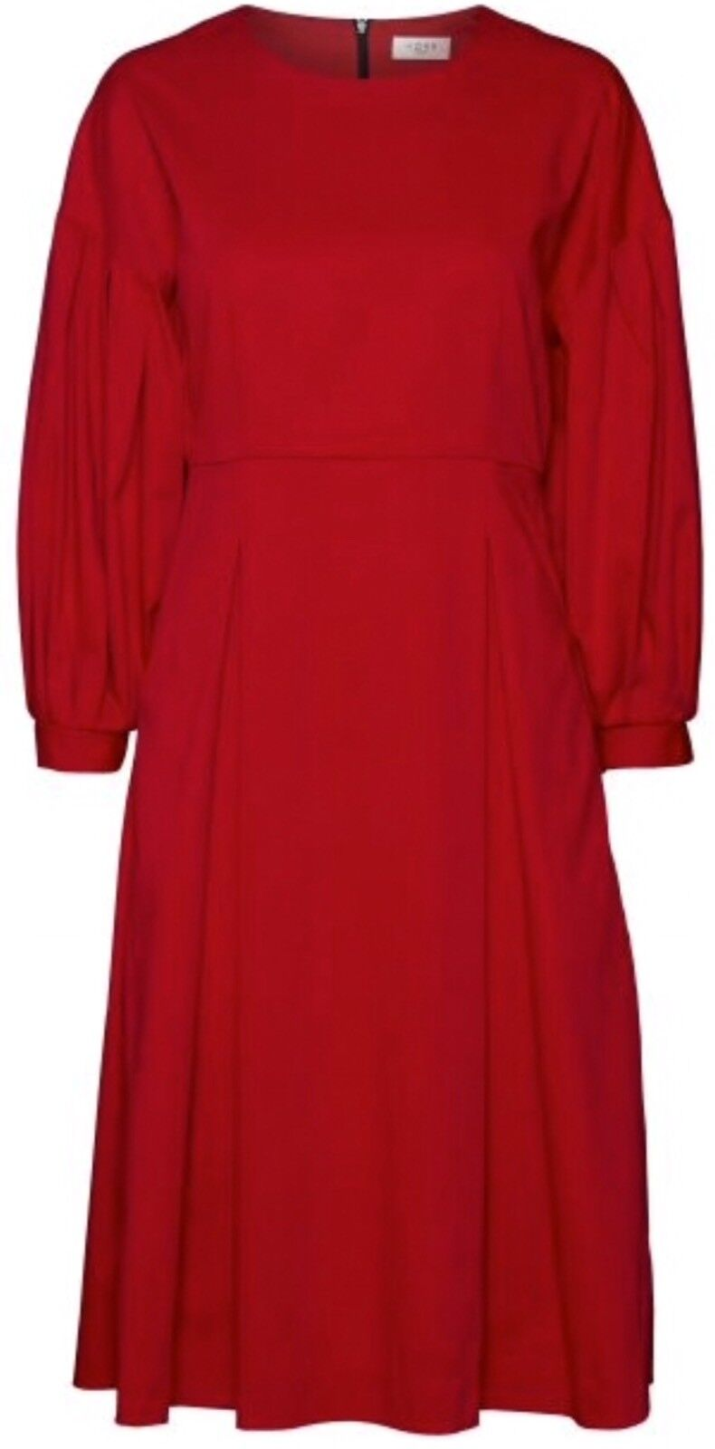 Norr Maggie Dress Red Size 40L