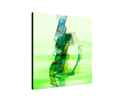 Serie Enigma auf Leinwand zeitlos grün 60x60cm Bild Paul Sinus