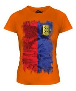 LIECHTENSTEIN-GRUNGE-FLAG-LADIES-T-SHIRT-TEE-TOP-GIFT-SHIRT-CLOTHING-JERSEY
