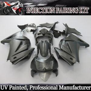 Matte Black Injection Fairing Kit For Kawasaki Ninja 250R EX250 2008-2012 09 10