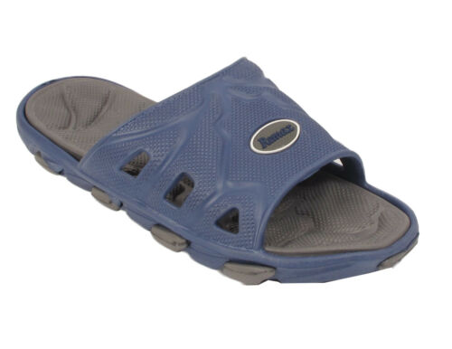 MENS CASUAL HOLIDAY BEACH SUMMER SLIDERS SANDAL FLIP FLOP FASHION SHOE SIZE 6-12