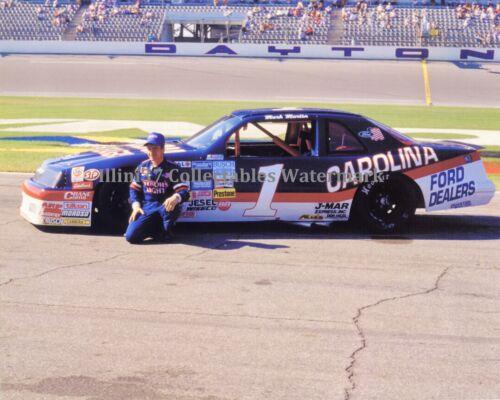 MARK MARTIN RARE #1 CAROLINA FORD DEALERS DAYTONA NASCAR AUTO RACING 8X10 PHOTO