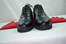 CALLAWAY GOLF BLACK LEATHER  SHOE'S 12 WITH CLARKS ACTIVE AIR INSOLES NEW