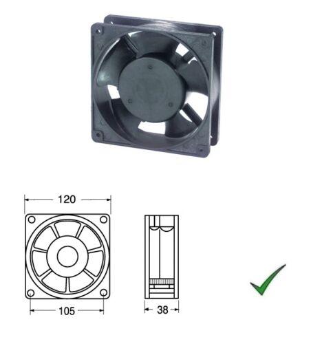 Ventola di Raffreddamento Ventilatore 220V su Bronzine 120x120x38mm