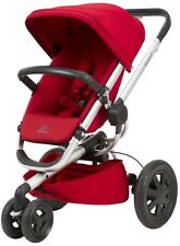 Quinny Buzz Xtra 2.0 Auto Unfold Reversible Seat Baby Stroller Red Rumor