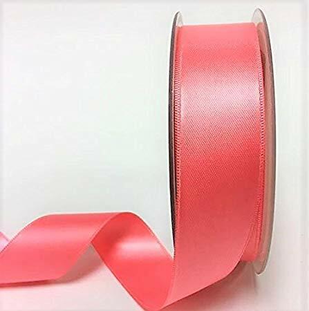35 Colours 3mm 6mm 10mm 16mm 25mm 38mm 50mm Satin Ribbon 25 Metre Rolls