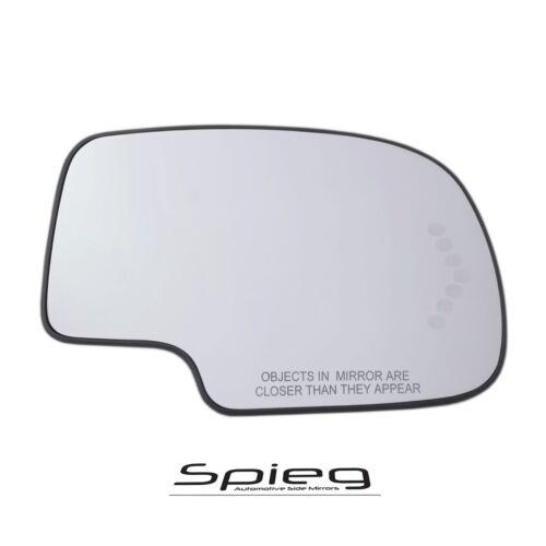 03-06 CHEVY TAHOE SUBURBAN YUKON Side Mirror Glass Led Signal PASSENGER RIGHT
