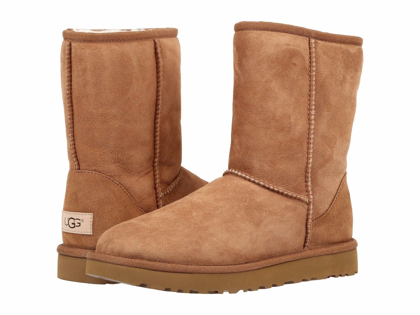 82d07da9a64 Women's Shoes UGG CLASSIC SHORT II Boots 1016223 CHESTNUT 5 6 7 8 9 10 11  *New*
