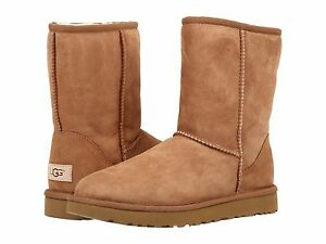Women-039-s-Shoes-UGG-Classic-Short-II-Boots-1016223-Chestnut-5-6-7-8-9-10-11-New