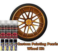 Dyc Performix Plasti Dip Pearl Wheel Kit 4 Matte Black 3 Burnt Copper Alloy Cans