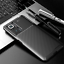 miniatura 1 - COVER per Xiaomi Redmi Note 10 / Pro CUSTODIA CARBONIO SLIM + VETRO TEMPERATO 9H