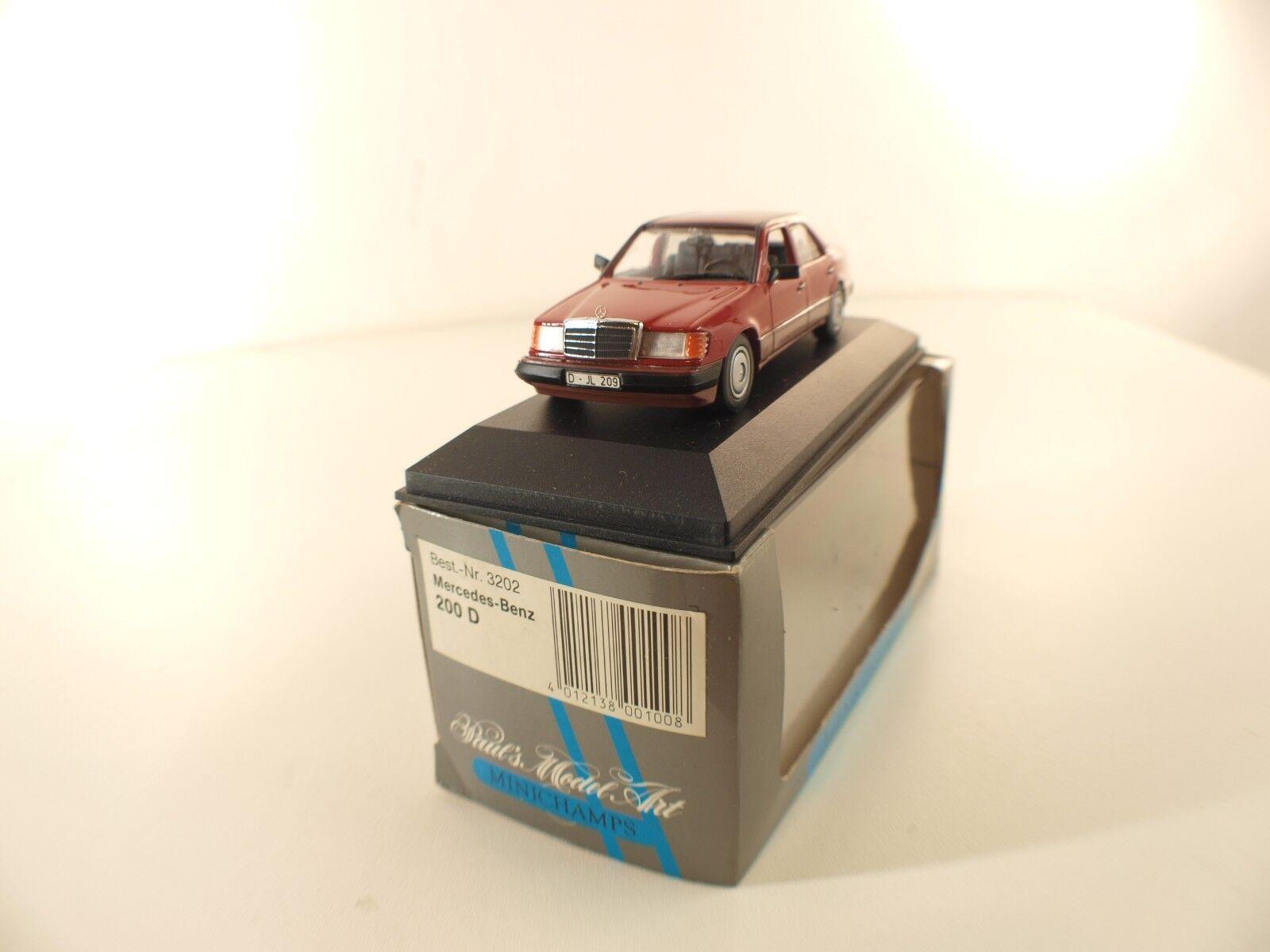 Minichamps - - - 3202 - Mercedes-Benz 200 D - 1 43 inbox en boîte 427cda