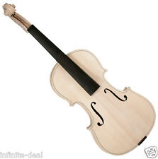 New SAGA VW-3 VIOLIN IN THE WHITE Unfinished Raw High Quality Violin Luthier Kit