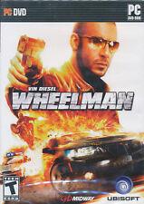WHEELMAN Vin Diesel Wheel Man Racing PC Game NEW in BOX