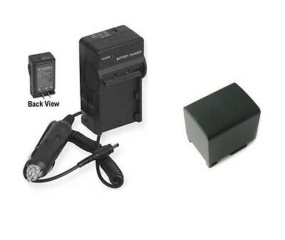 Battery Charger for Canon LEGRIA HF R56 HF R506 HD Camcorder HF R57