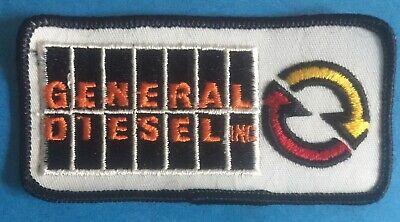 """Vintage 1970/""""s Detroit Allison General Diesel GM Hipster Jacket Hat Patch 712R"""