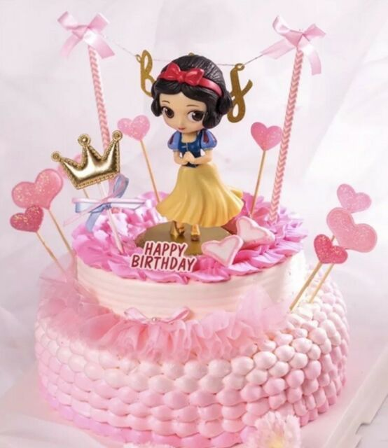 Groovy Birthday Cake Topper Disney Snow White With Bluebird For Sale Funny Birthday Cards Online Alyptdamsfinfo