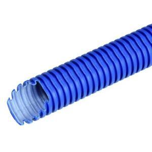 50m-Ffku-Remo-Clic-25-Kunststoff-Wellrohr-Senal-Azul-sin-Revestimiento