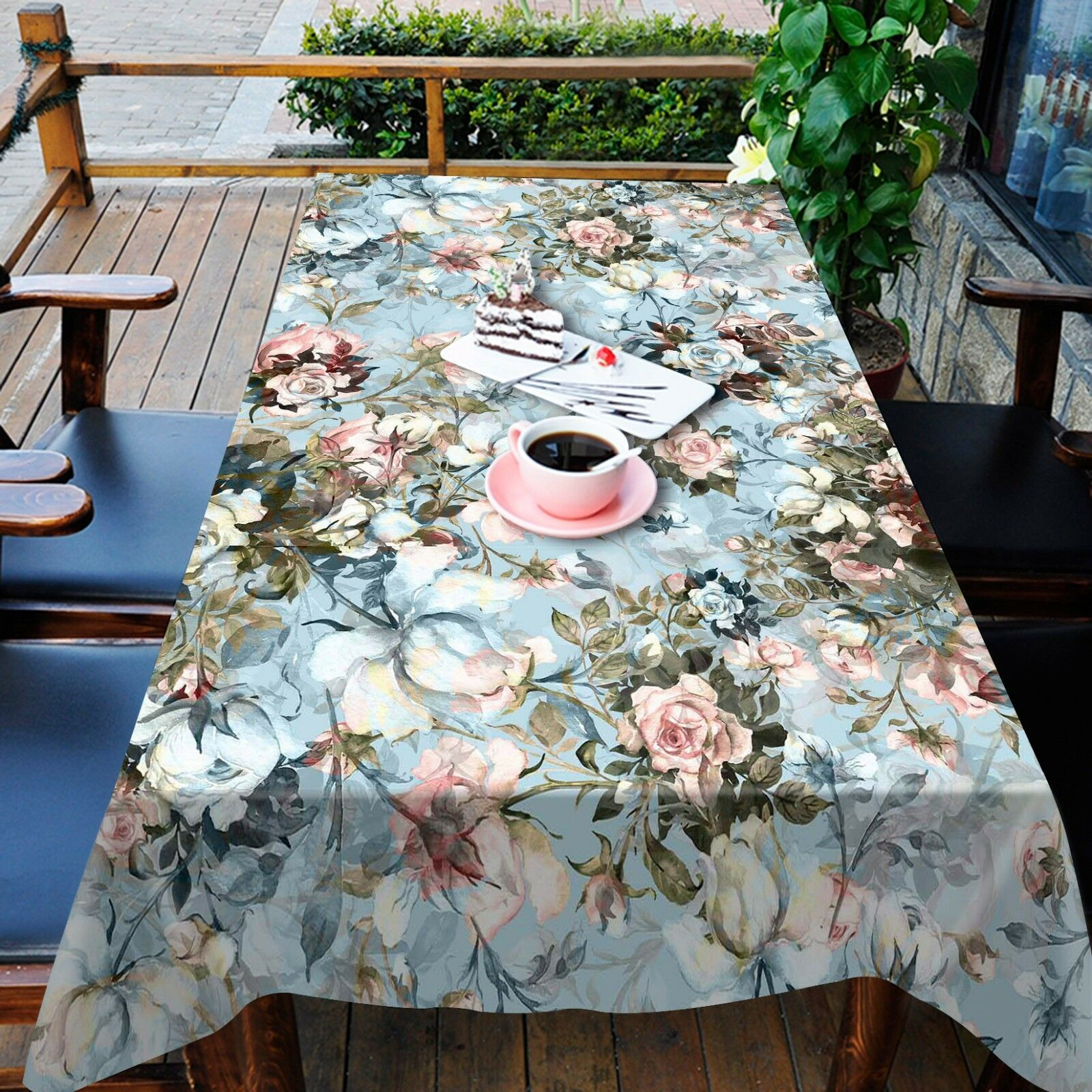 3D Flowers 782 Tablecloth Table Cover Cloth Birthday Party Event AJ WALLPAPER AU