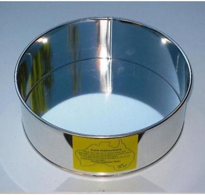 - 3 inch DEEP L X B SHARP EDGED PAN CAKE TIN SQUARE 7.7 inch // 20 cms