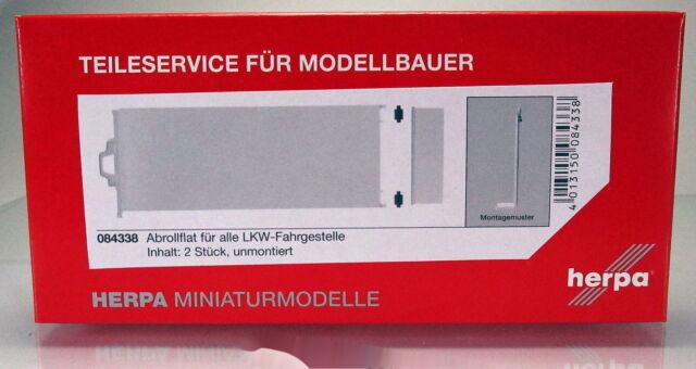 Herpa 084338 Abrollflat für alle LKW Fahrgestelle 2 Stück Scale 1 87 NEU OVP