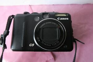 Canon Digital Camera G9 12.1 Megapixels - Black