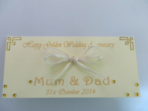 DL size Money Wallet Wedding//Anniversary//Birthday//Christening etc