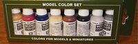 Vallejo Acrilic 8 Color Model Paint Set For Civil War Infantry 17 Ml. Per Bottle