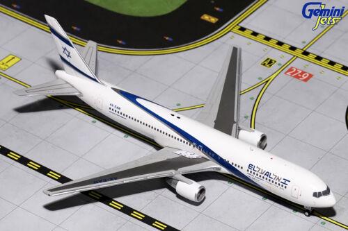 Israel Boeing 767-300 GJELY1270 1//400 REG# 4X-EAN Gemini Jets El Al New