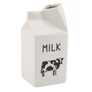 Nouveauté blanc carafe moo milk carton design pichet céramique nouveauté design cadeau maison
