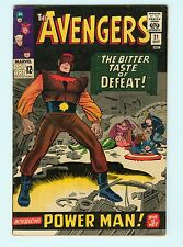 The Avengers #21 7.0 FN/VF Silver Age Marvel Comic Book 1st Power Man