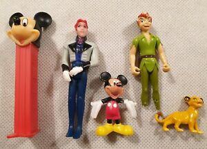 Disney Figura Bundle Mickey Mouse Peter Pan Hans Simba pez