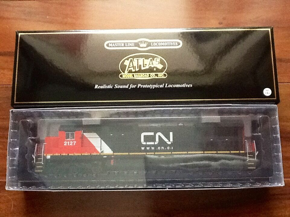 ATLAS  HO 1 87 DCC CANADIAN NATIONAL DASH 8-40C ROAD   2127 F S   10001245 F S