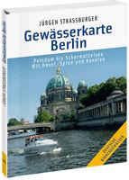 Karte der Wasserstraßen Potsdam bis Scharmützelsee Havel Behörden Wasserwege