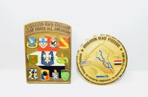 U-S-MILITARY-AIR-FORCE-ARMY-MARINES-NATIONAL-GUARD-IRAQI-FREEDOM-MEDALS-PINS
