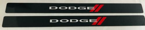 Dodge Challenger or Charger Real Carbon Fiber DODGE Door Sills 1-Pair
