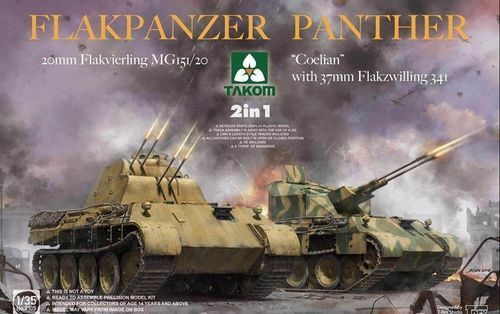 TAKOM FLAKPANZER PANTHER 2 IN 1 1 35 COD.2105