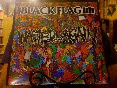 Black Flag Wasted...Again LP sealed vinyl SST
