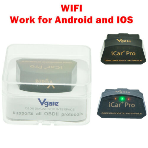 OBD2 Code Reader Vgate iCar Pro WiFi Auto Diagnostic Tool for iphone IOS Android