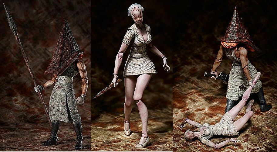 FREEing figma Silent Hill 2 Bubble Head Nurse & rosso Pyramid Thing Set