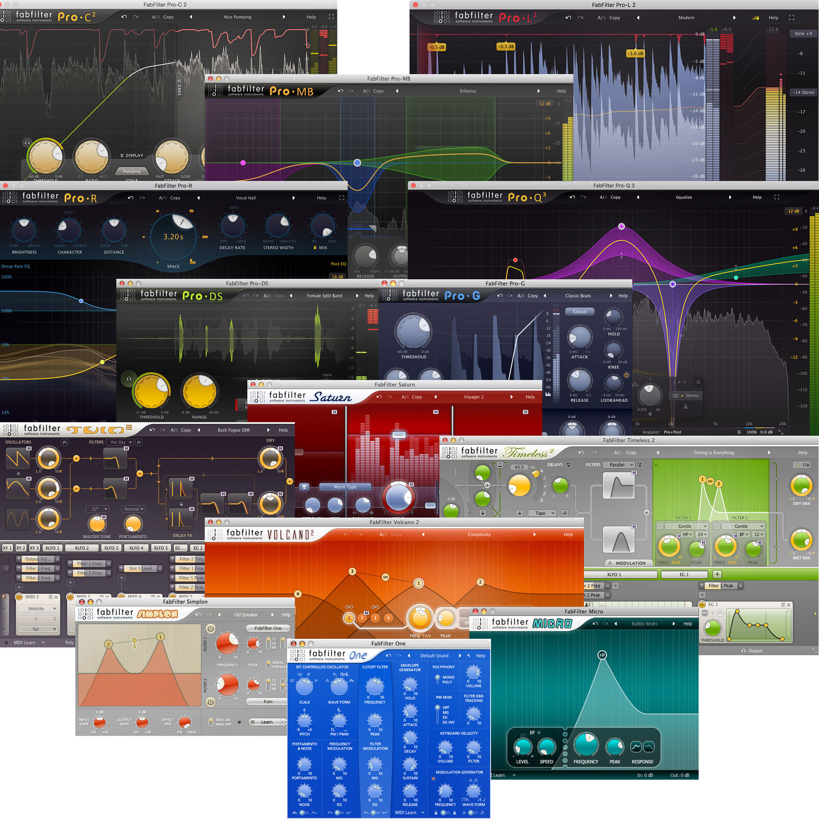 FabFilter Total Bundle (Electronic Delivery) - Authorized Dealer