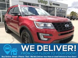 2016 Ford Explorer Sport Sport | AWD | Sunroof | Leather | Remote Start