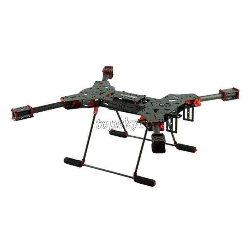 H4 1.6MM Board 680 Wheelbase Folding Carbon Fiber Quadcopter&3K CF Landing Gear