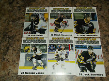 2015-16 COQUITLAM EXPRESS ALEX AMBROSIO BCHL SINGLE PLAYER CARD
