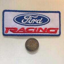 Patch toppa aufnaher Écusson embroidered Ford Racing thermocollant