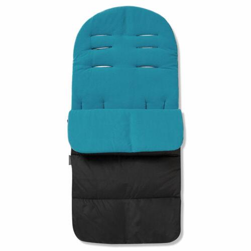 Ocean Blue Cosy Toes For Maxi Cosi Mura 3 Premium Pushchair Footmuff