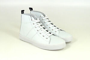 Fred-Perry-Ellesmere-Mid-Leather-Mid-Cut-White-Weiss-B9110-W-Neu