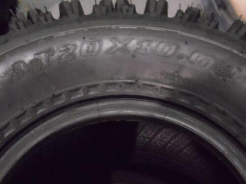 20X10-9 ALL 4 TIRES YAMAHA YFM 350 RAPTOR QUADKING SPORT ATV TIRES 21X7-10