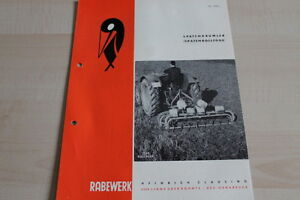 Anleitungen & Handbücher 144117 Rabewerk Spatenkrümler Spatenrollegge Prospekt 04/1963 Noch Nicht VulgäR Automobilia
