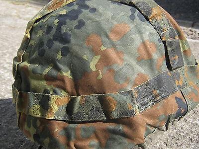 Army Surplus German Flecktarn Helmet Cover Size Large